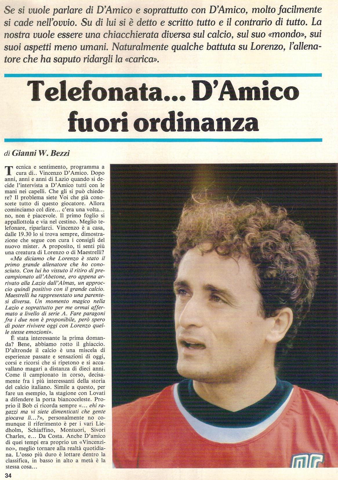 Forza Lazio del 14 ottobre 1984