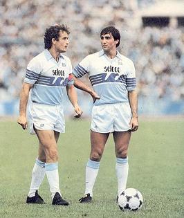 Lazio 1982-1983: D'Amico e Giordano (laziowiki.org)
