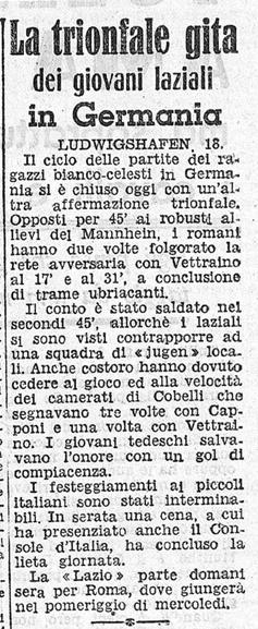 luned 18 aprile 1938 ludwigshafen ludwigshafen lazio 1 4 laziowiki. Black Bedroom Furniture Sets. Home Design Ideas