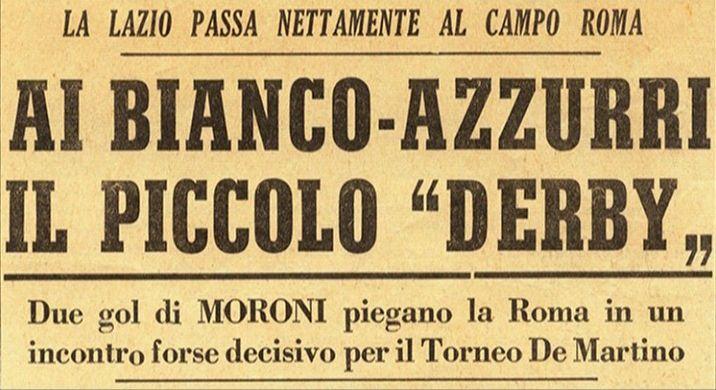 Domenica 7 maggio 1961 roma campo roma roma lazio 0 2 for De martino arredamenti scafati